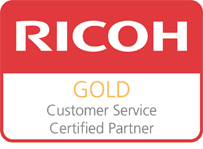 Ricoh Gold Customer Service Partner Accreditation for Insight Systems